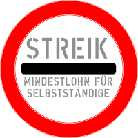 streik button